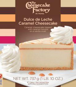 6 inch Dulche De Leche Cheesecake
