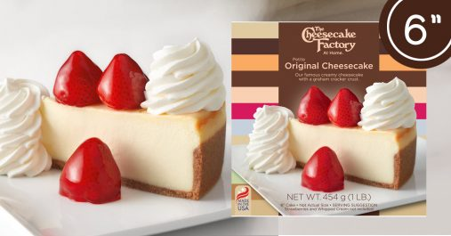 6 Inch Whole Cheesecakes