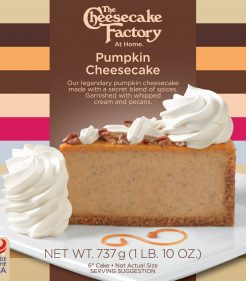 6 inch Pumpkin Cheesecake
