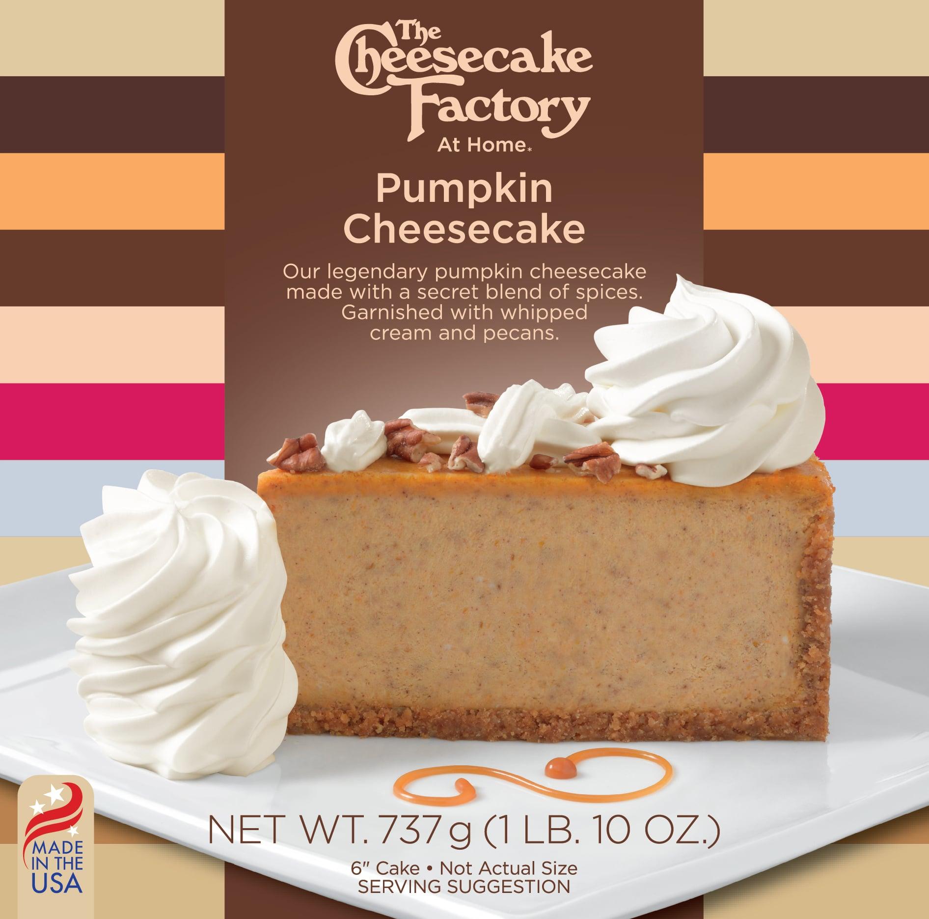 6 inch Pumpkin Cheesecake