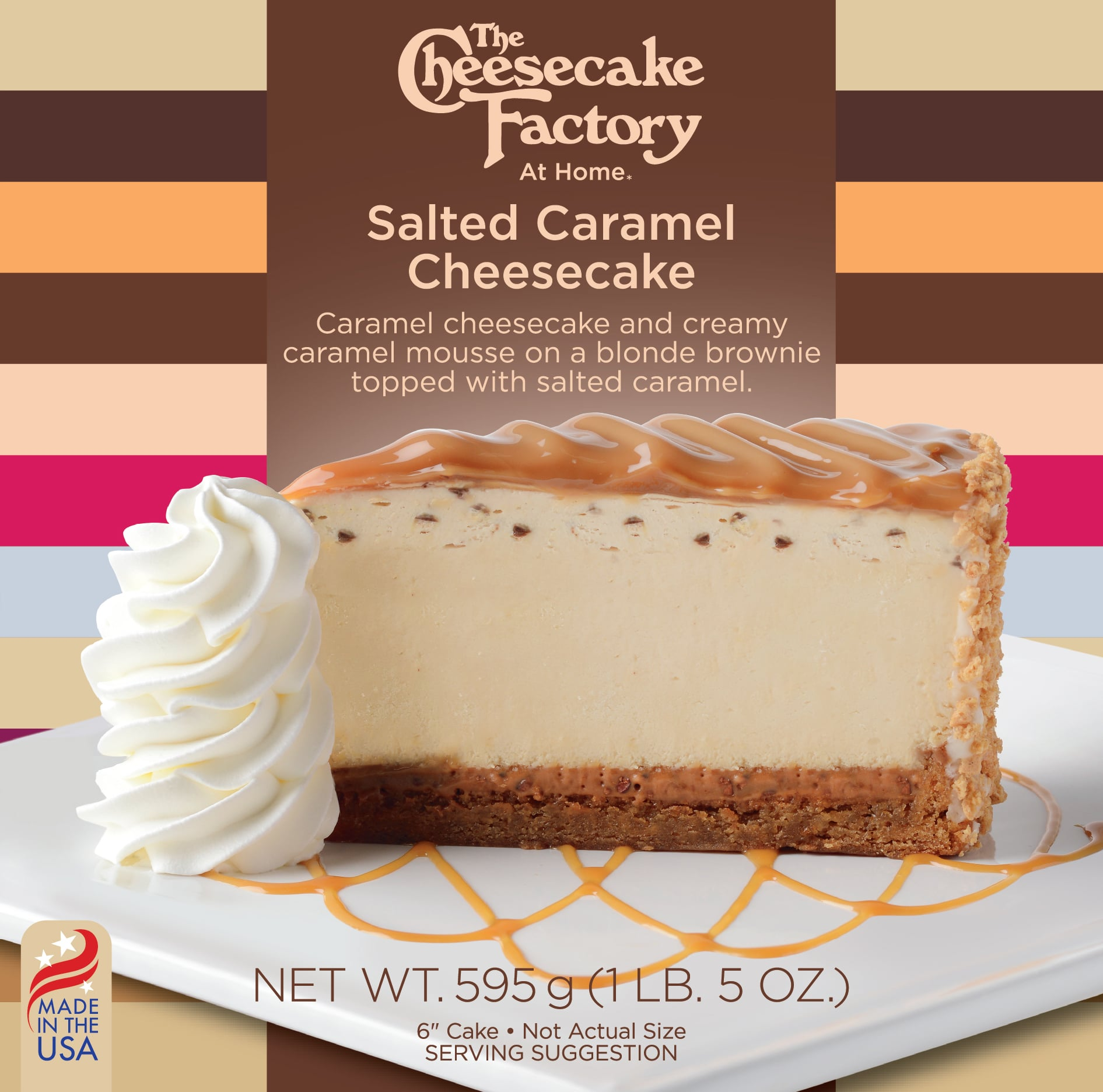6 inch Salted Caramel Cheesecake