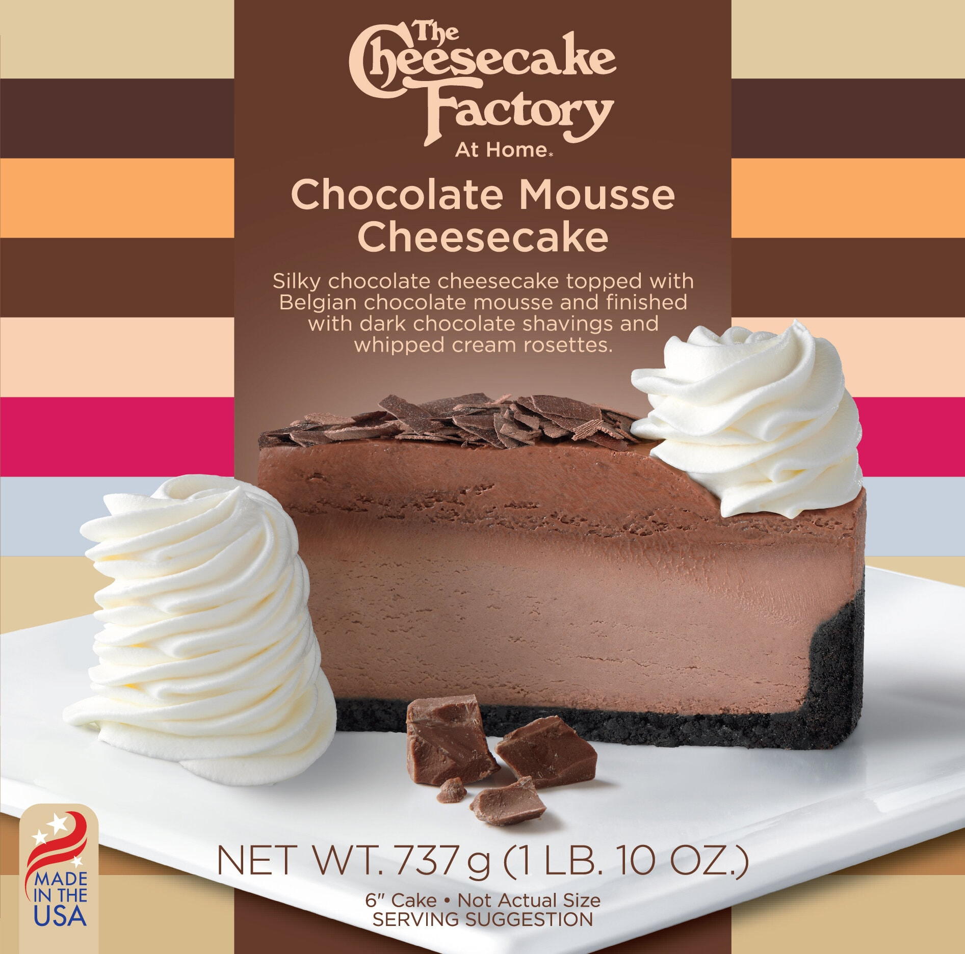 6 inch Chocolate Mousse Cheesecake