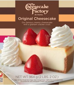 7 Inch Original Cheesecake from The Cheesecake Factory At Home range for retail in UK & Europe