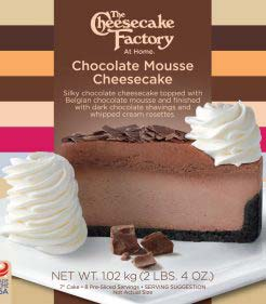 7 inch Chocolate Mousse Cheesecake