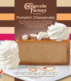7 inch Pumpkin Cheesecake