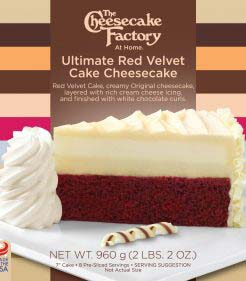 7 inch Ultimate Red Velvet Cake Cheesecake
