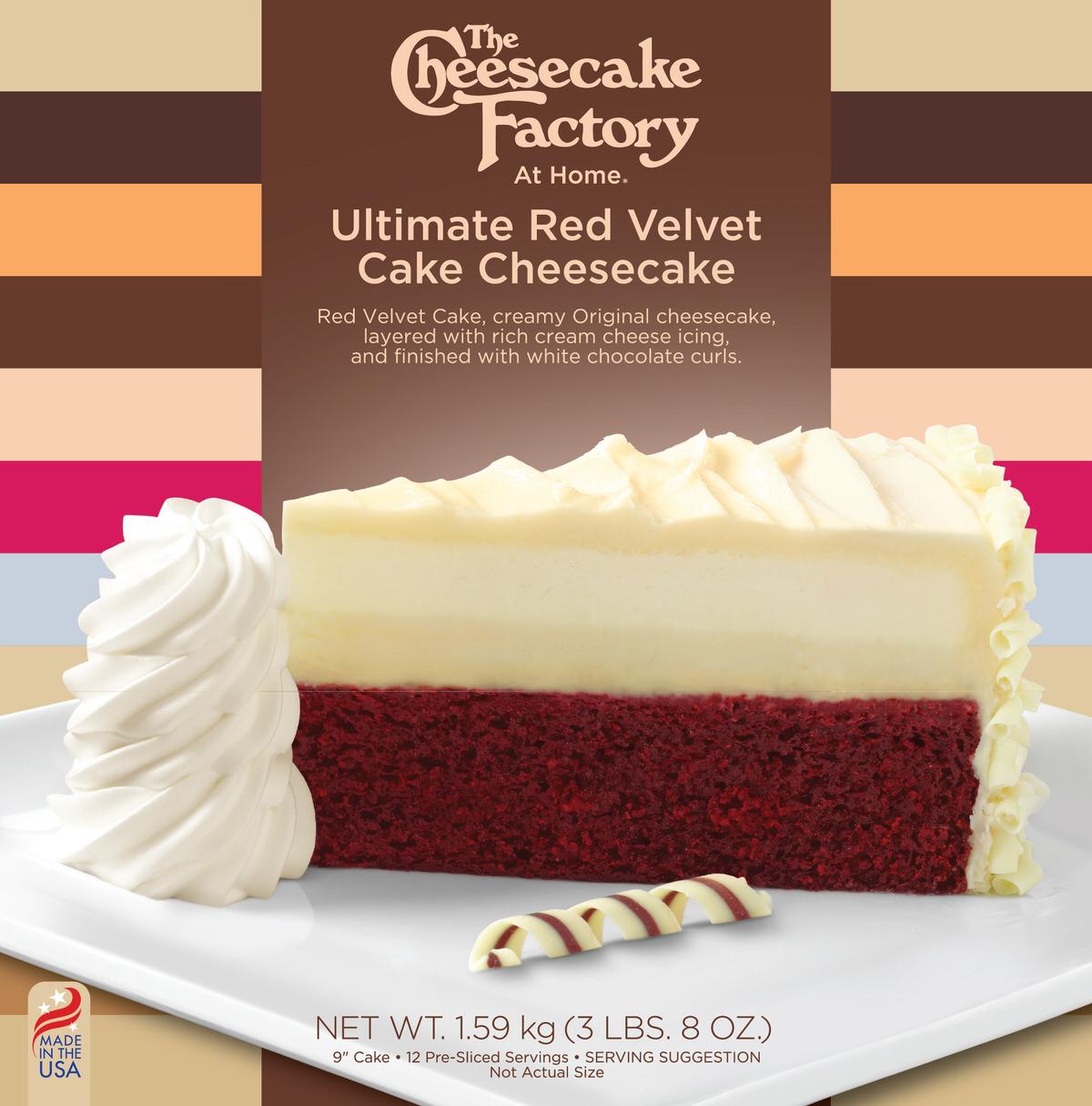 9 ULTIMATE RED VELVET CAKE CHEESECAKE