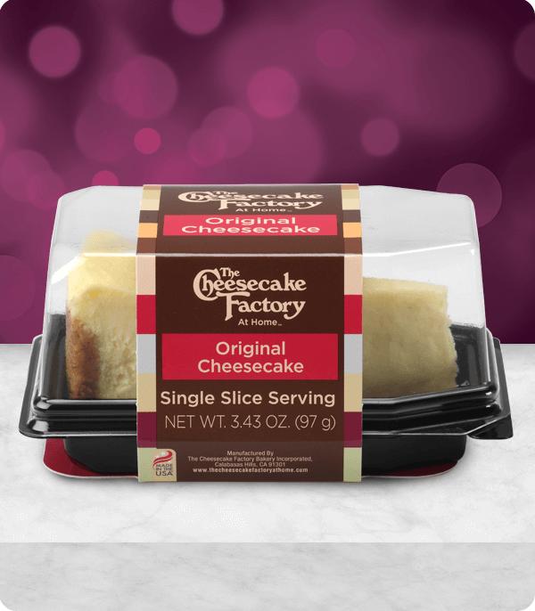 Original Cheesecake Slice
