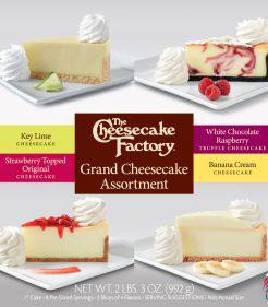 7 inch Grand Cheesecake Assortment