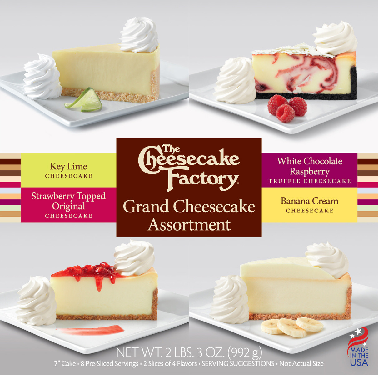 7 inch Grand Cheesecake Assortment
