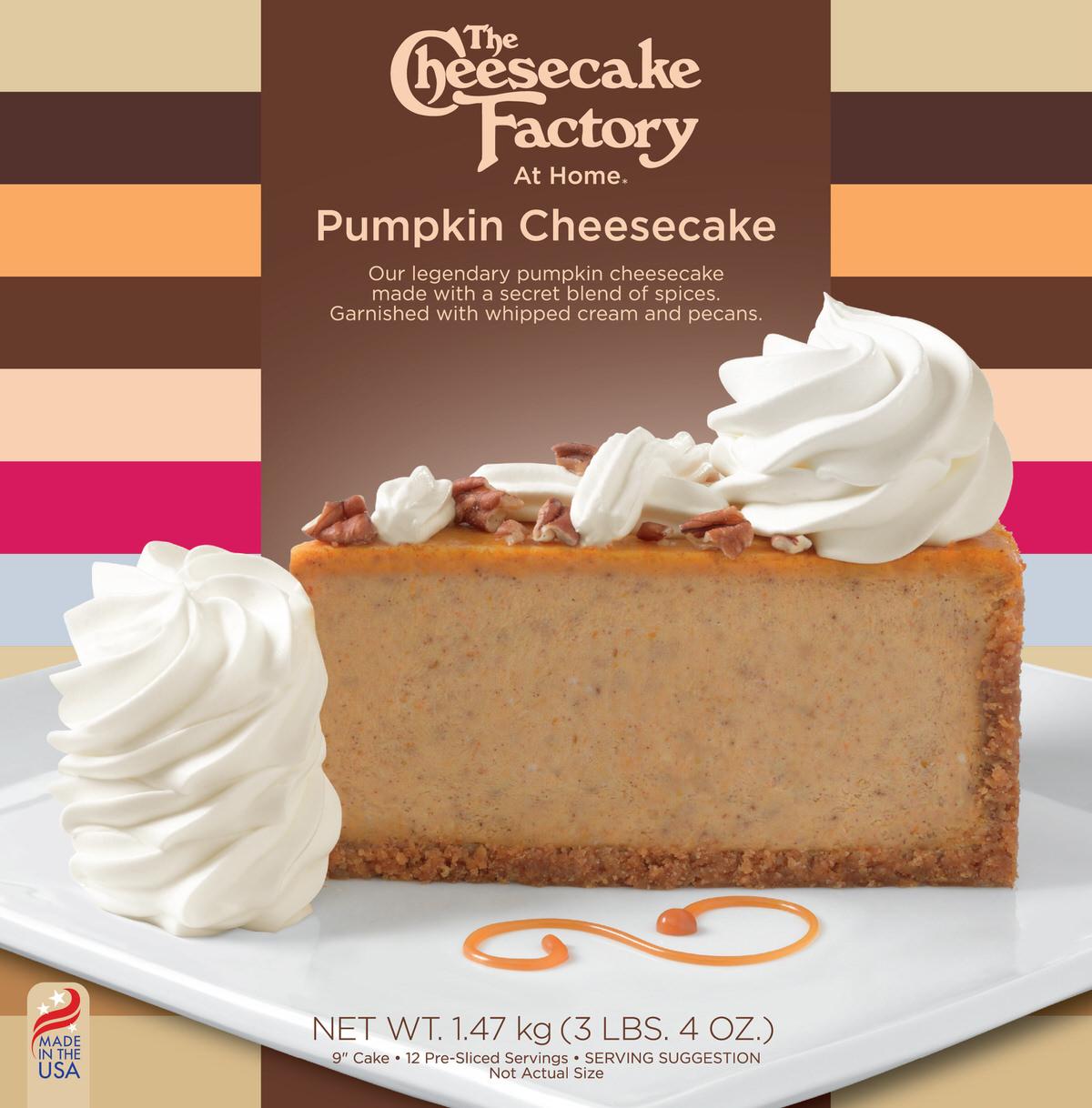 9 inch Pumpkin Cheesecake