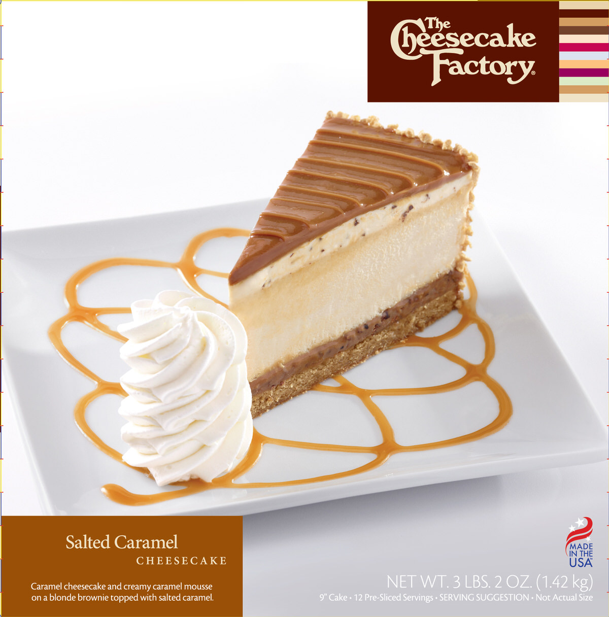 9 inch Salted Caramel Cheesecake