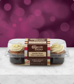 Vanilla Bean Mini Cupcakes