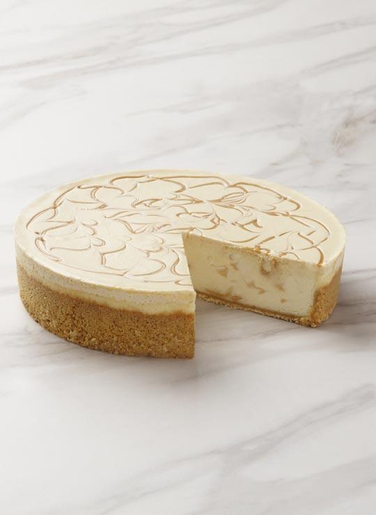 """9"""" Banoffee Cheesecake"""