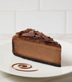 """9"""" Belgian Chocolate Cheesecake"""