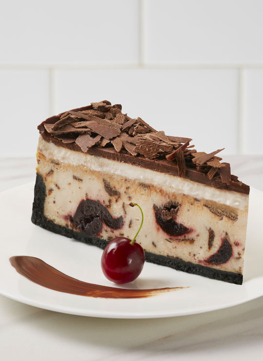 "10"" Chocolate Cherry Cheesecake"
