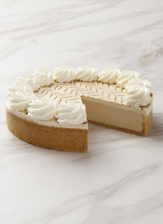 10 inch dulce de leche cheesecake