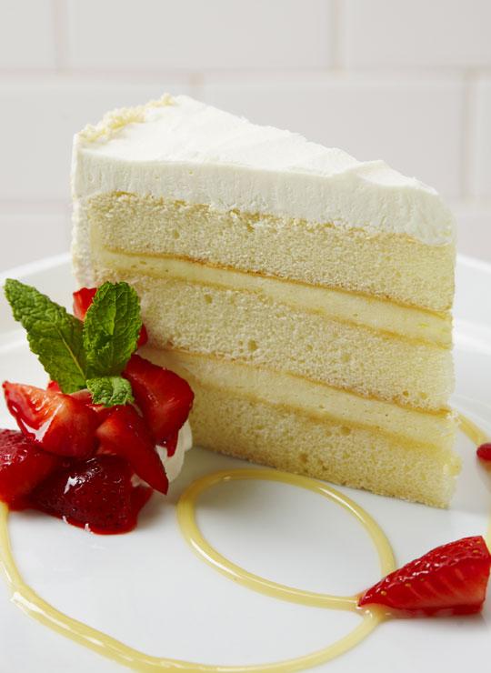 Lemon Box Cake