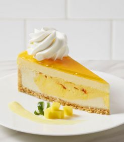 "10"" Mango Key Lime Cheesecake"