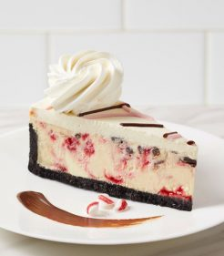 "10"" Peppermint Chocolate Chunk Cheesecake"