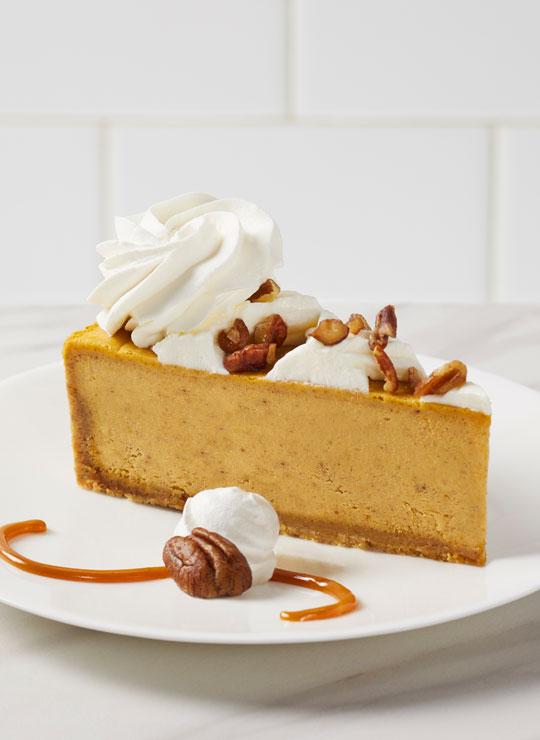 "10"" Pumpkin Cheesecake"
