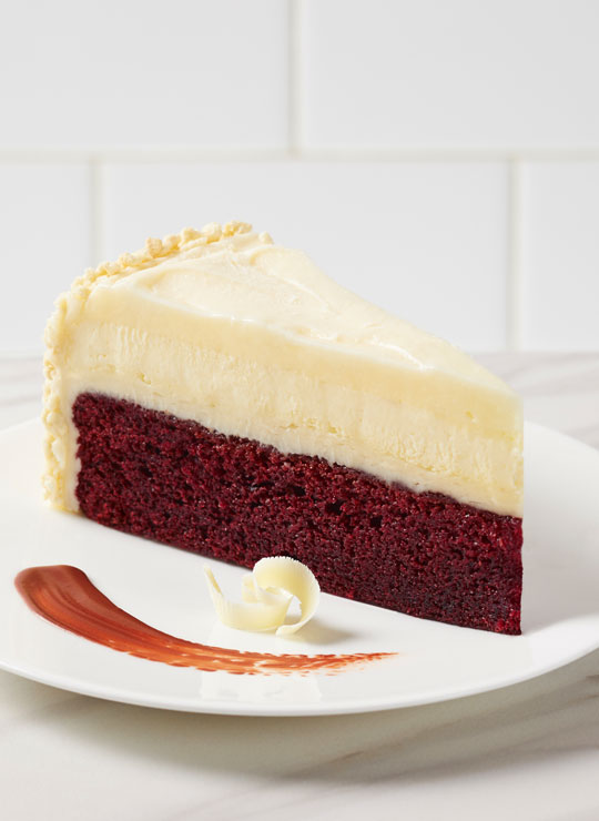 """10"""" Red Velvet Cake Cheesecake"""
