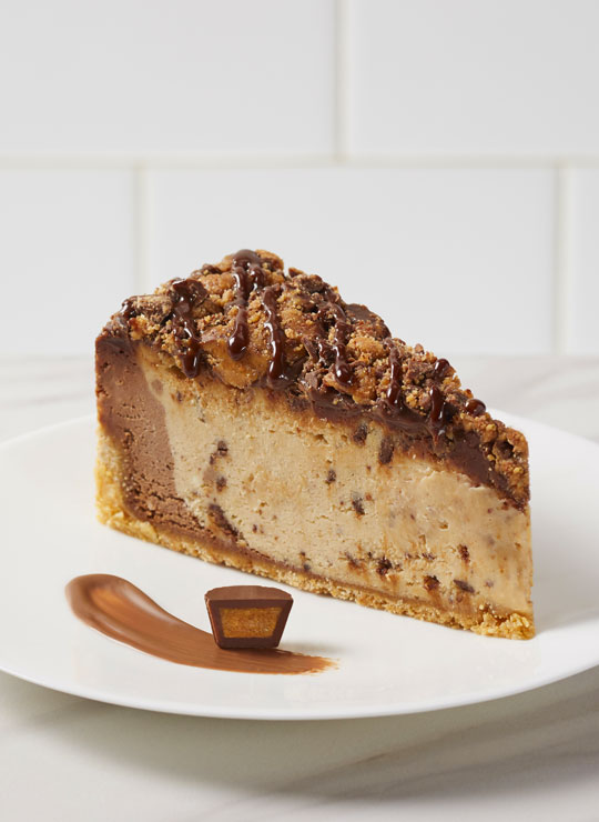 """10"""" Reese's Peanut Butter Cheesecake"""