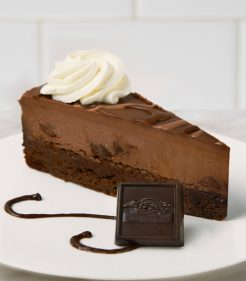10 Inch Ghirardelli Triple Chocolate Cheesecake