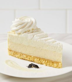 "10"" Triple Vanilla Cheesecake"